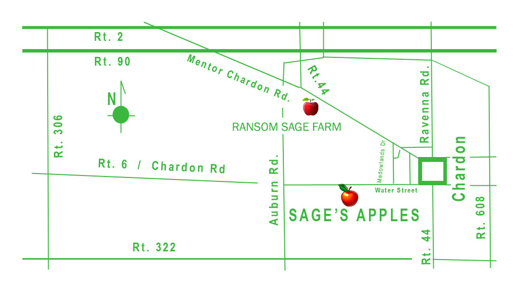 Sages Apples Map And Direction